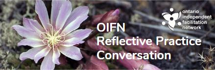 OIFN Reflective Practice Conversation Story: Exploring the Role of Facilitating Change
